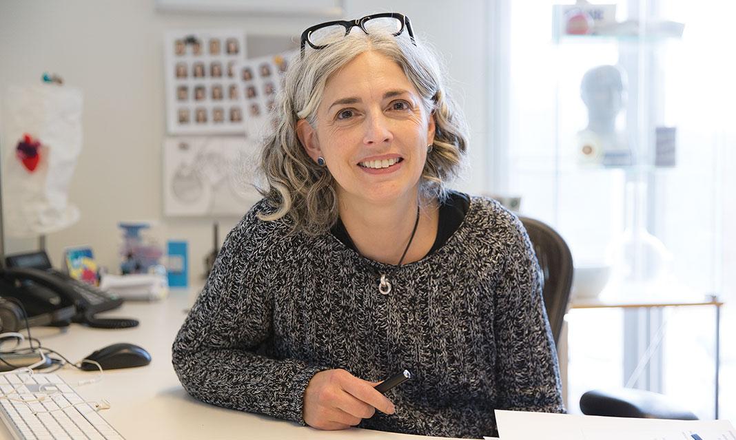 Professor Jodie Jenkinson, BA, MScBMC, PhD (Photo Credit: Olivia Adamczyk)