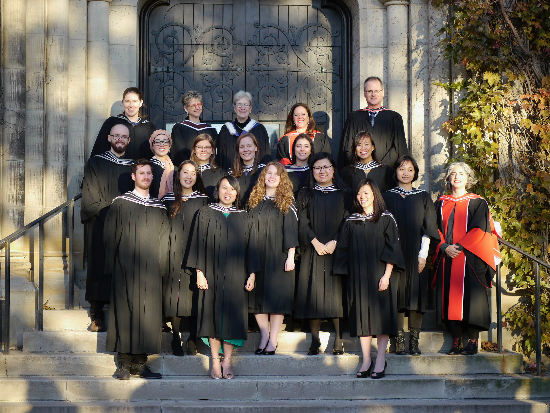 MScBMC faculty and graduating Class of 2016