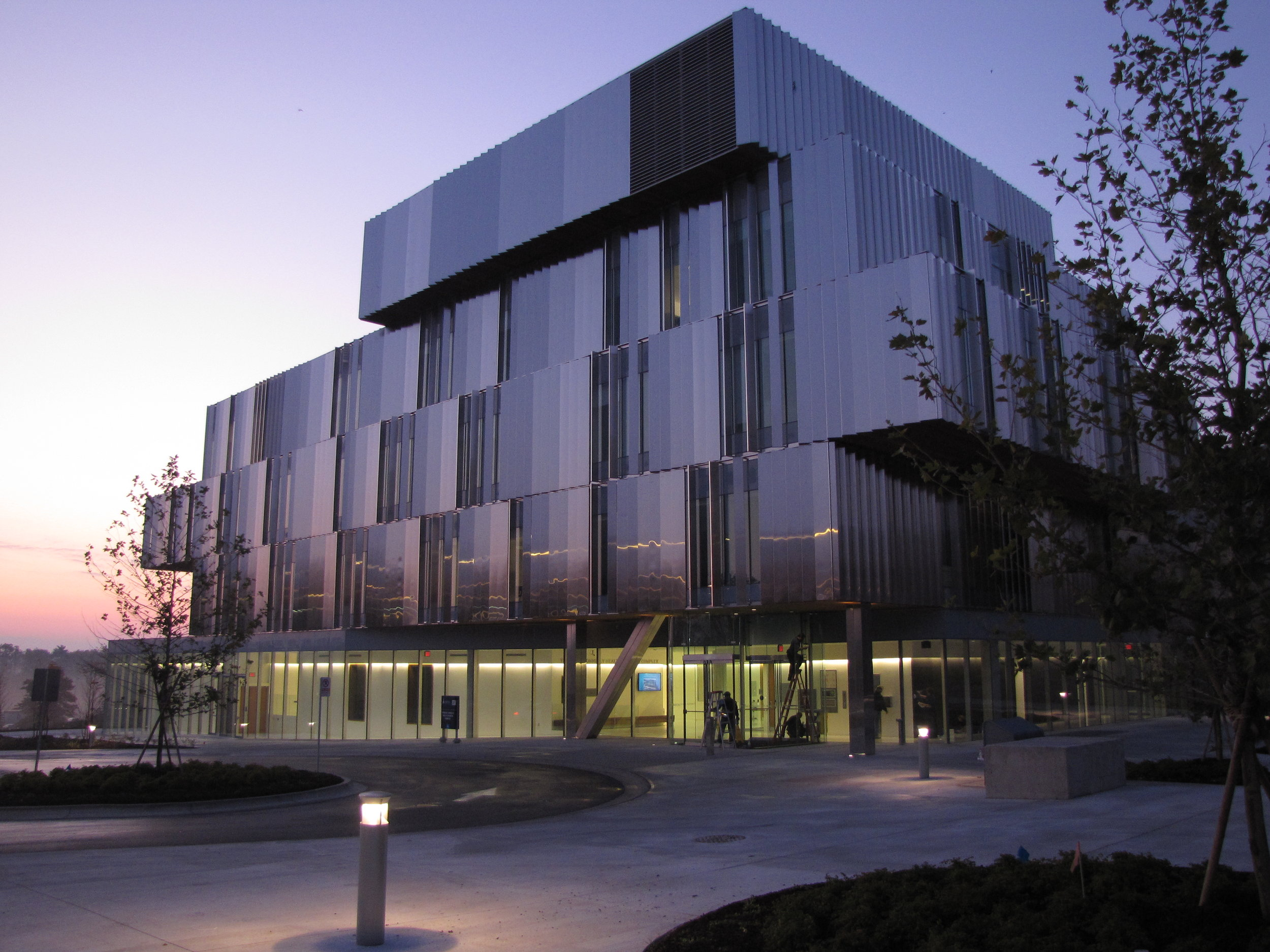 The Biomedical Communications graduate space is located on the third floor of the Terrence Donnelly Health Science Centre on the University of Toronto Mississauga campus.