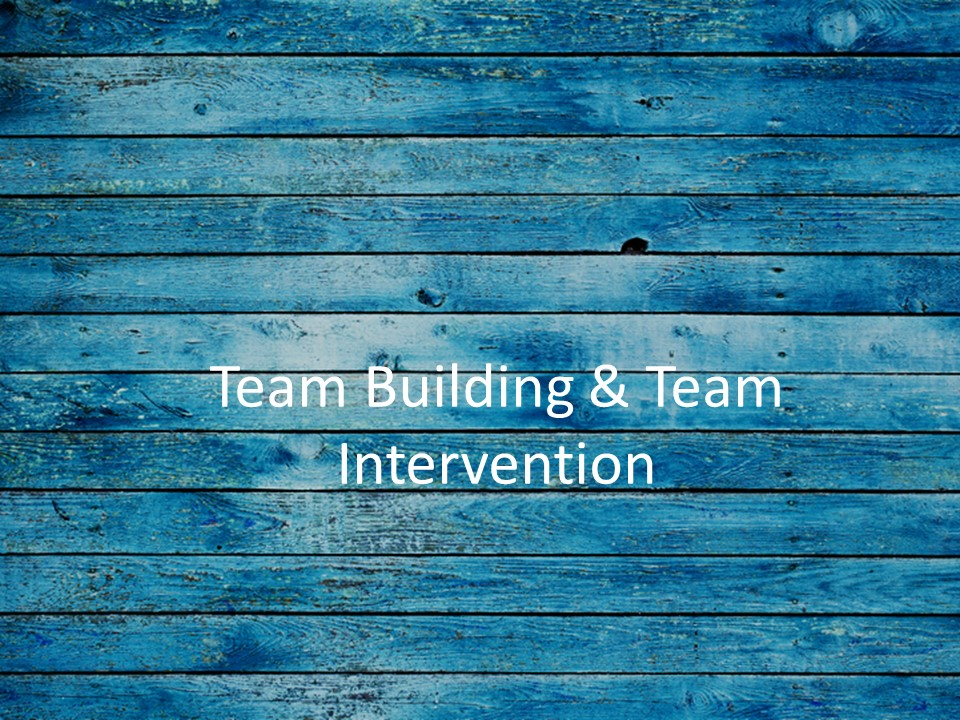 To improve how teams work together...