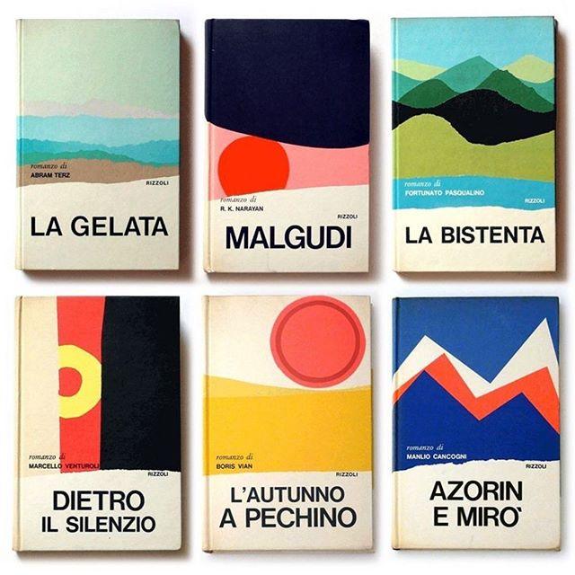 Mario Degrada x Rizzoli book covers