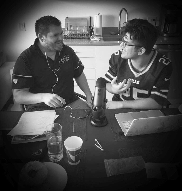 Brian and Dave (Recording in Philadelphia in September 2017)