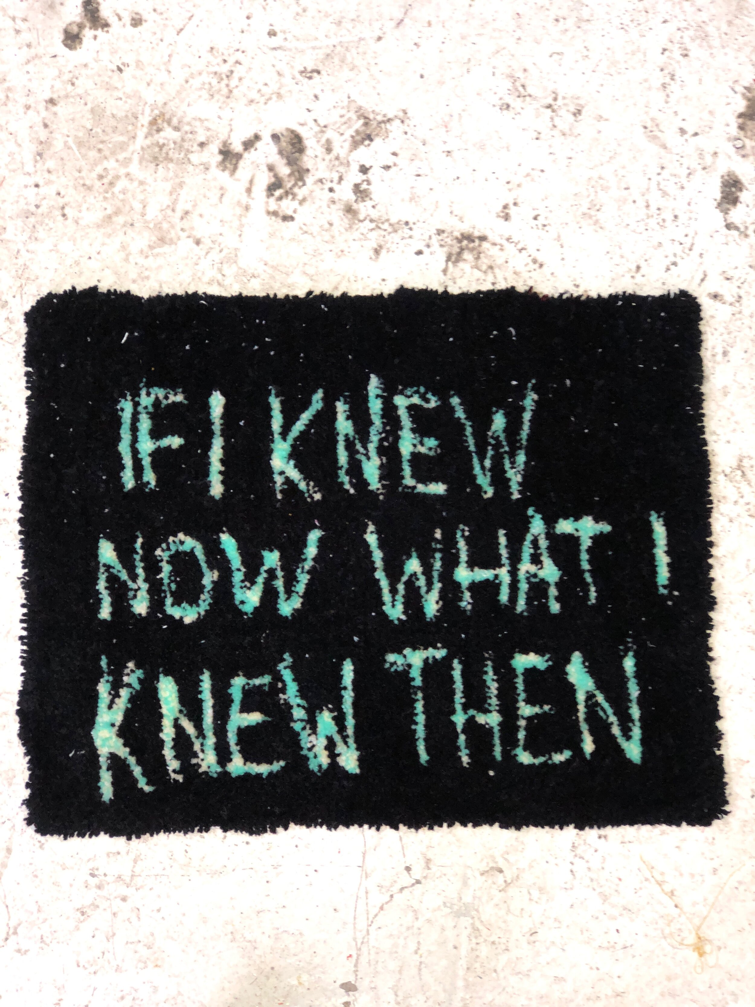 I KNOW I KNOW - SEPTEMBER 2019 *   SOLD   *