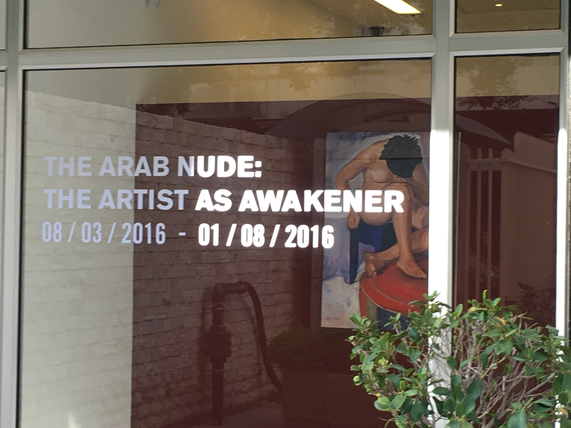 The Arab Nude: The Artist as Awakener @Kirsten Scheid