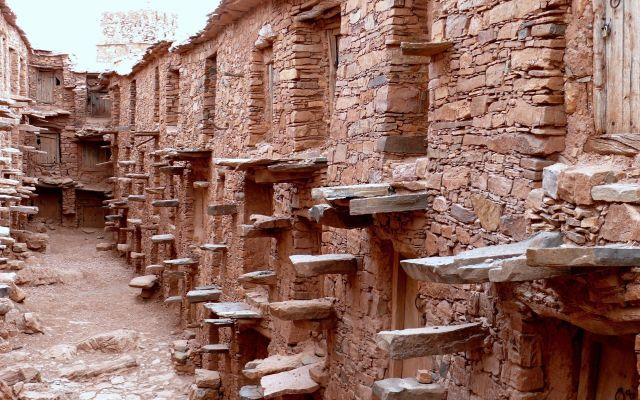Greniers Collectifs Haut-Atlas, Tighrems, Maroc ©RitaAlaoui.jpg