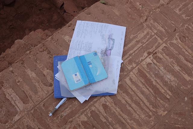 Student Notes. Experimental Archaeology. ©Rita Alaoui.jpg