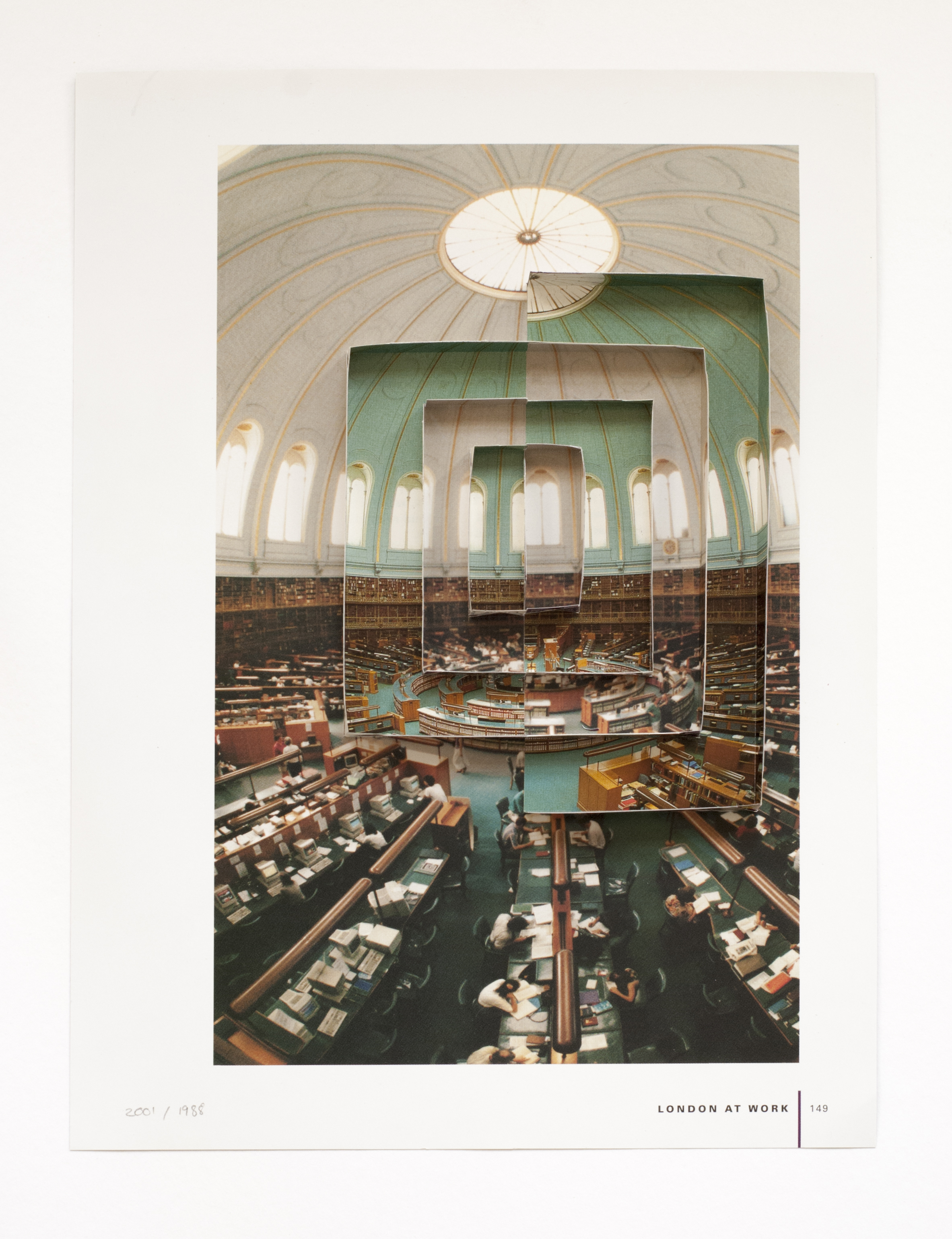The Universal Now, British Museum Reading Room Nr 19, 2009 - Courtesy of the Artist