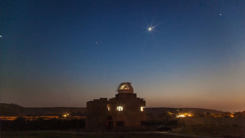 The Sagar Observatory, at the Sagar School, Alwar Rajasthan, image credit Ajay Talwar