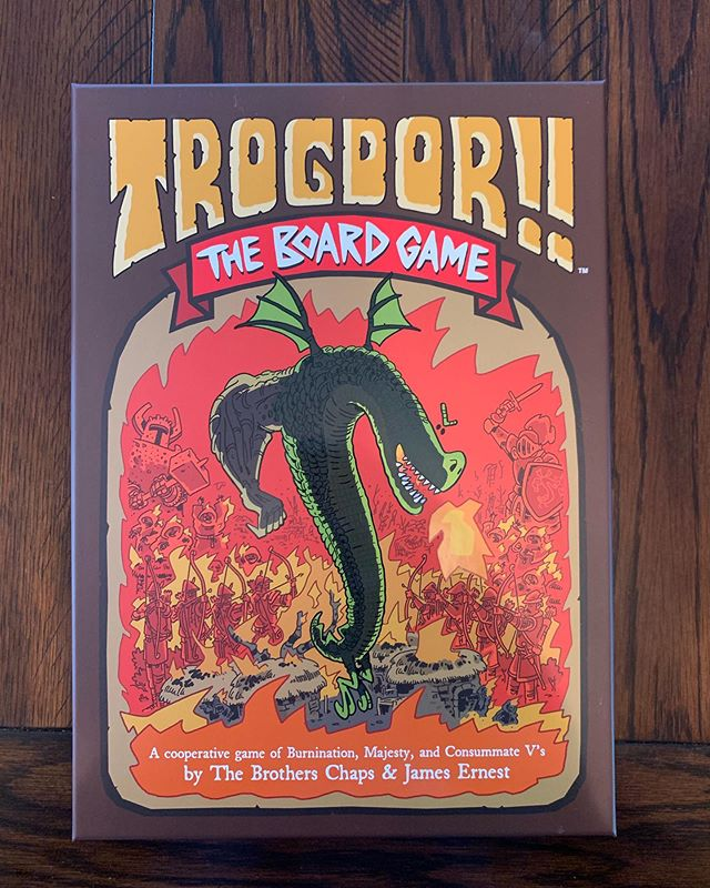 Trogdor was a man. #🔥 #thachedroofcottages #💪🏼🐉