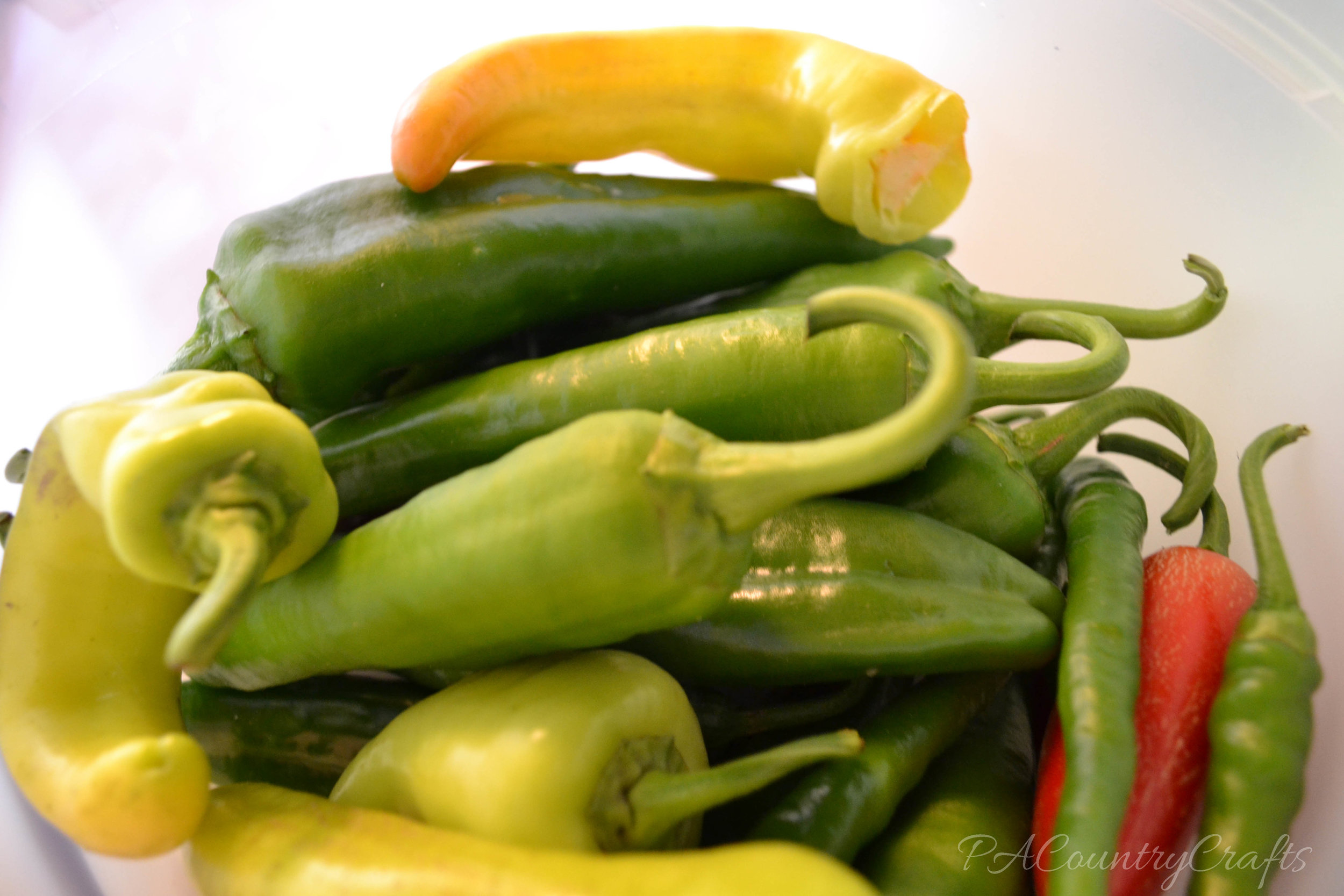 beautiful hot pepper mix