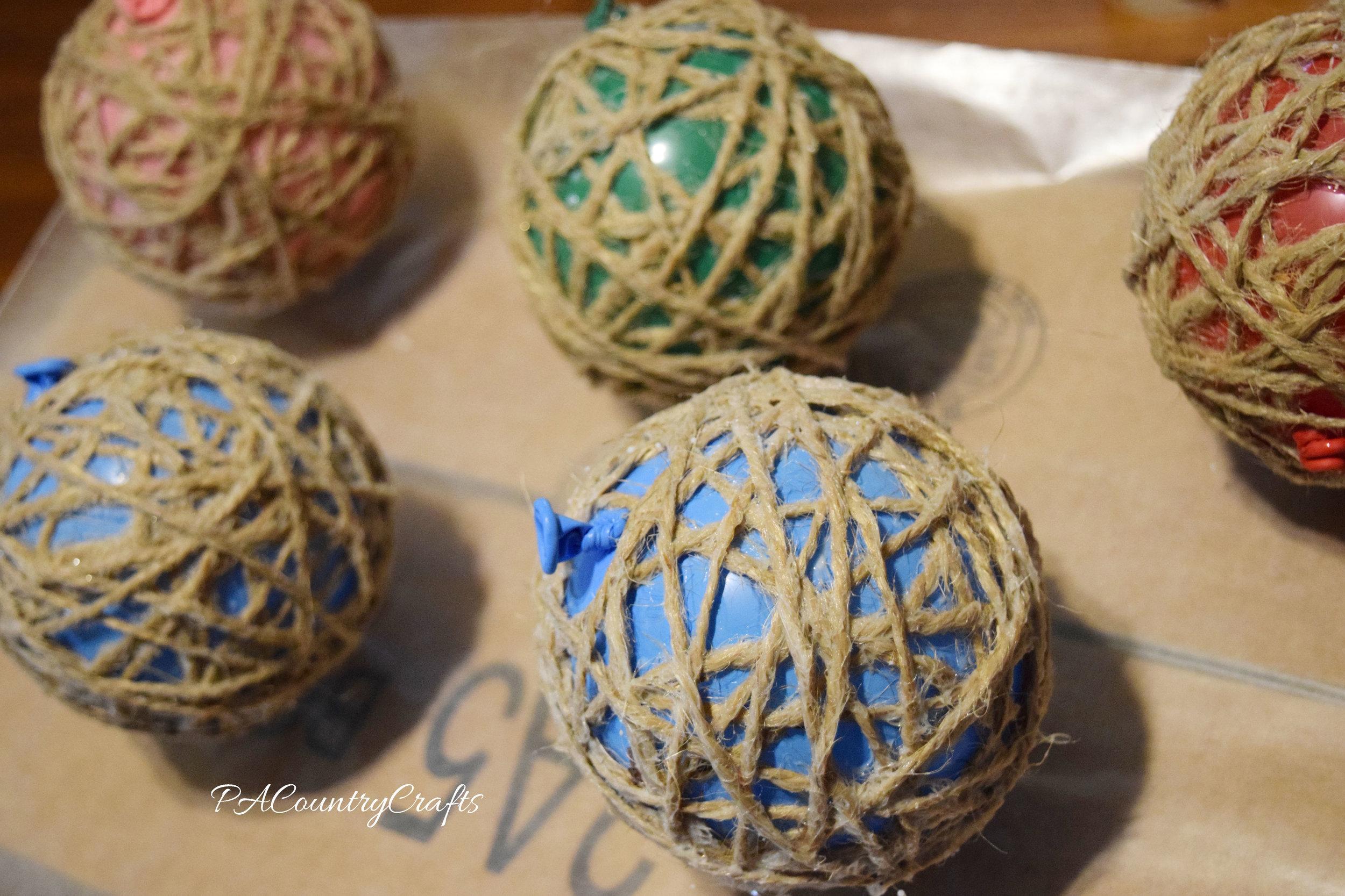 DIY Twine Balls