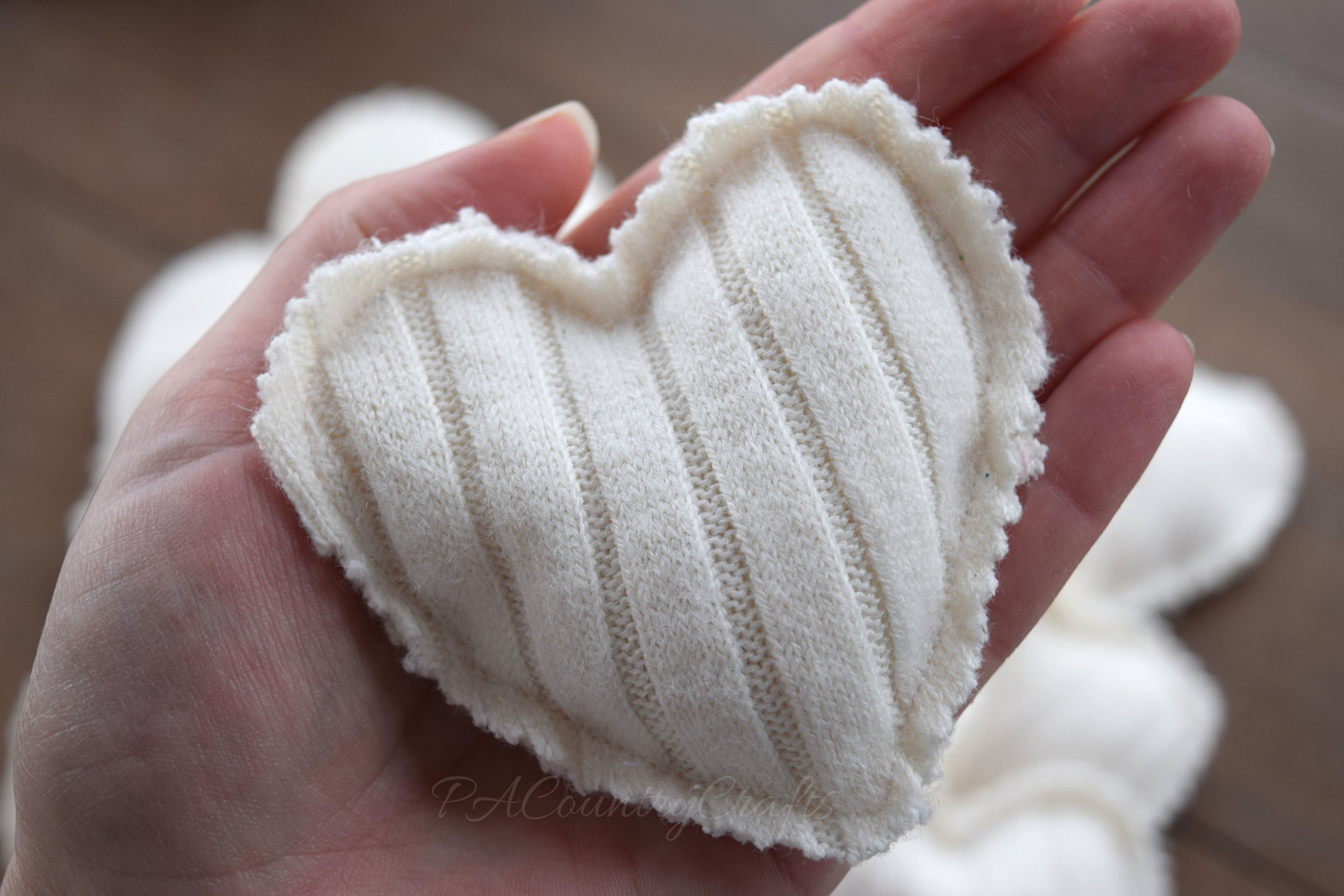 Beautiful, soft handwarmers made from sweaters