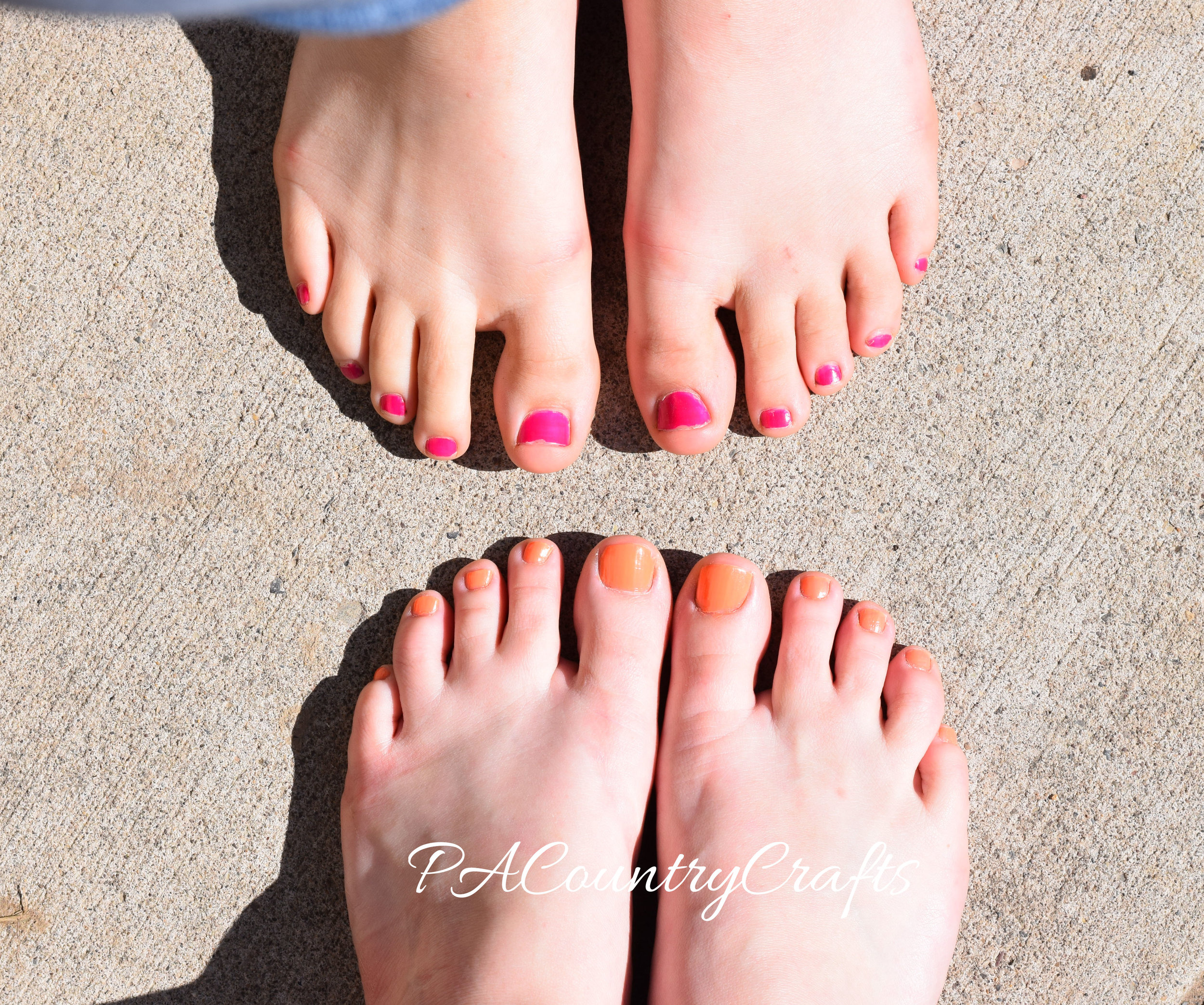 painted-toes