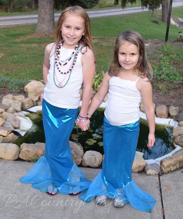 Easy Mermaid Tail Costume Sewing Tutorial