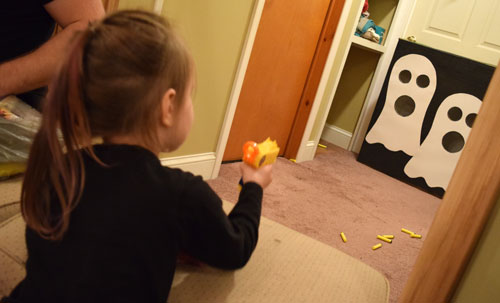 nerf dart ghost shooting game