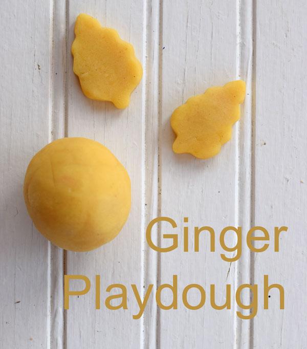 ginger playdough recipe