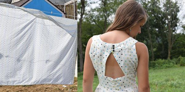 sheet-to-retro-dress