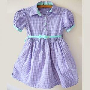 Men's Shirt to Girls' Dress