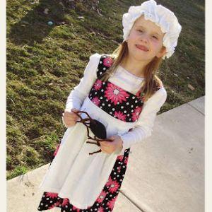 Little Miss Muffet from a White T Shirt