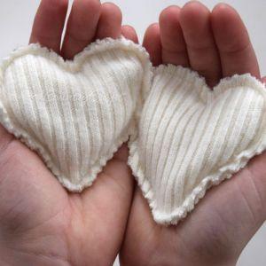 Sweater Scraps to Handwarmers