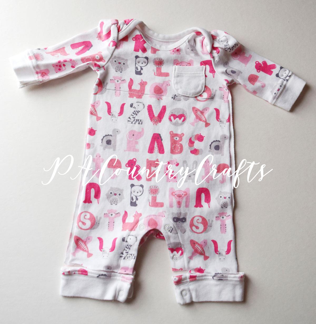 Use outgrown baby clothes to make a memory bear