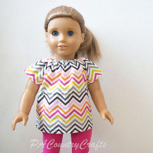 Doll Peasant Top