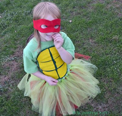 Girls' Ninja Turtle Costumes