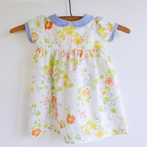 Vintage Baby Dress Collar