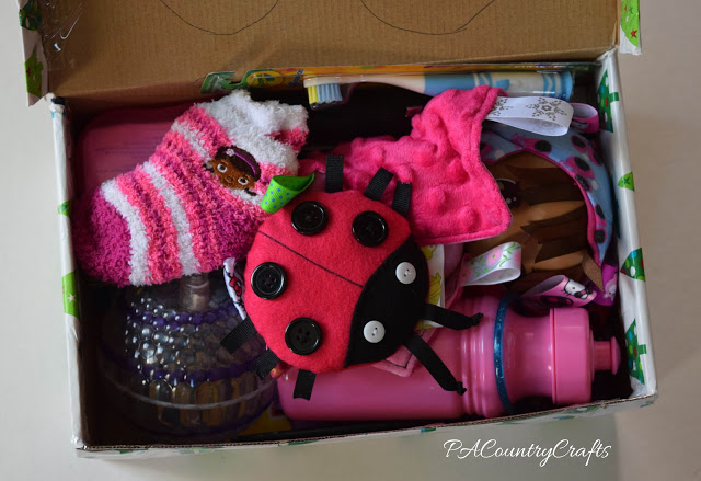 2-4yo girl shoebox