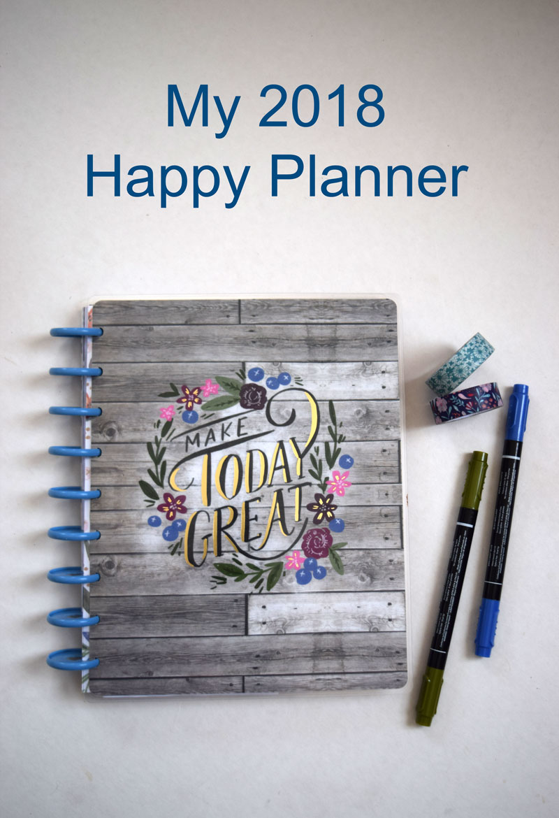 How I Use My Happy Planner