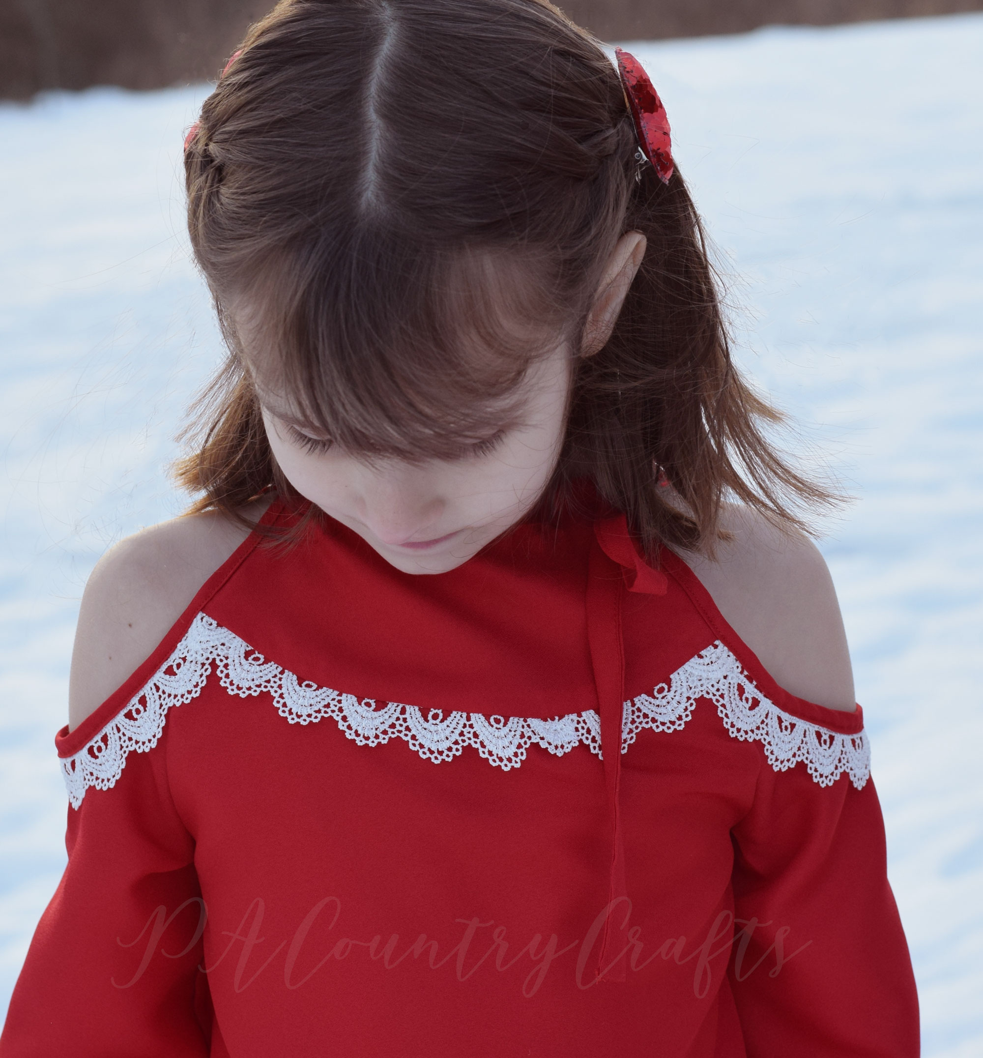 Cold shoulder tunic- Lynx sewing pattern by Sofiona Designs