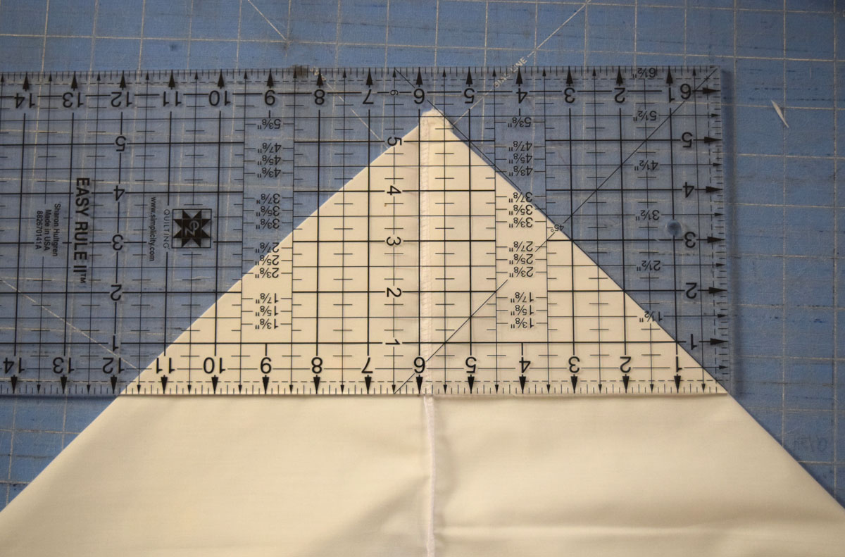 How to sew a market basket liner