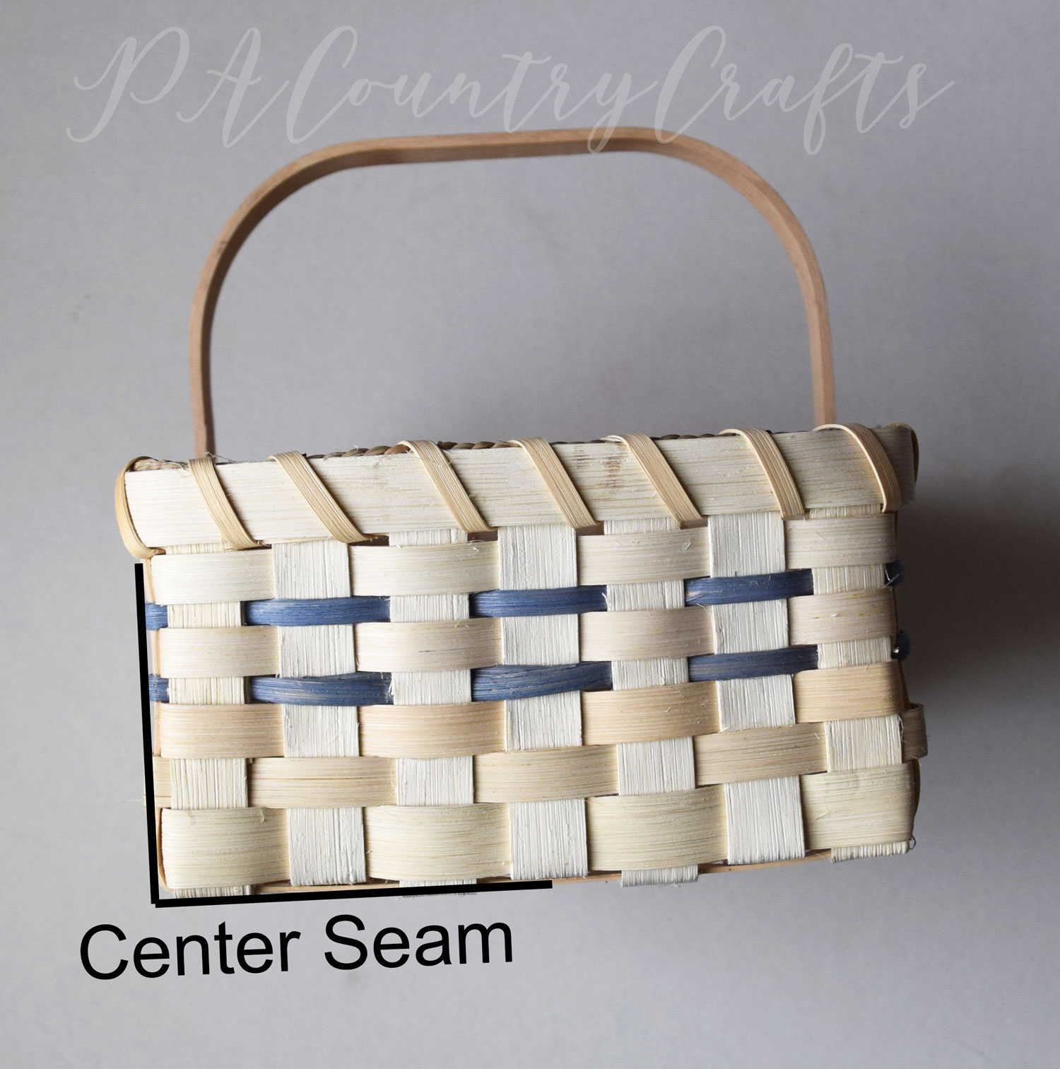 How to make a liner for a basket with handles