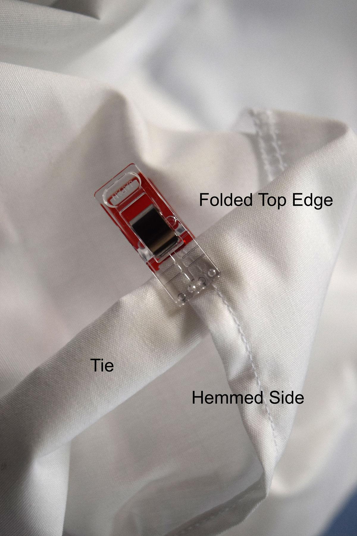 how to make basket liner ties