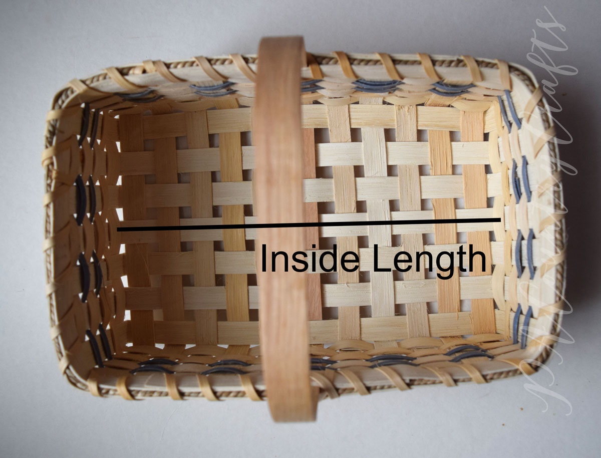 tutorial for sewing a liner for a basket with handles