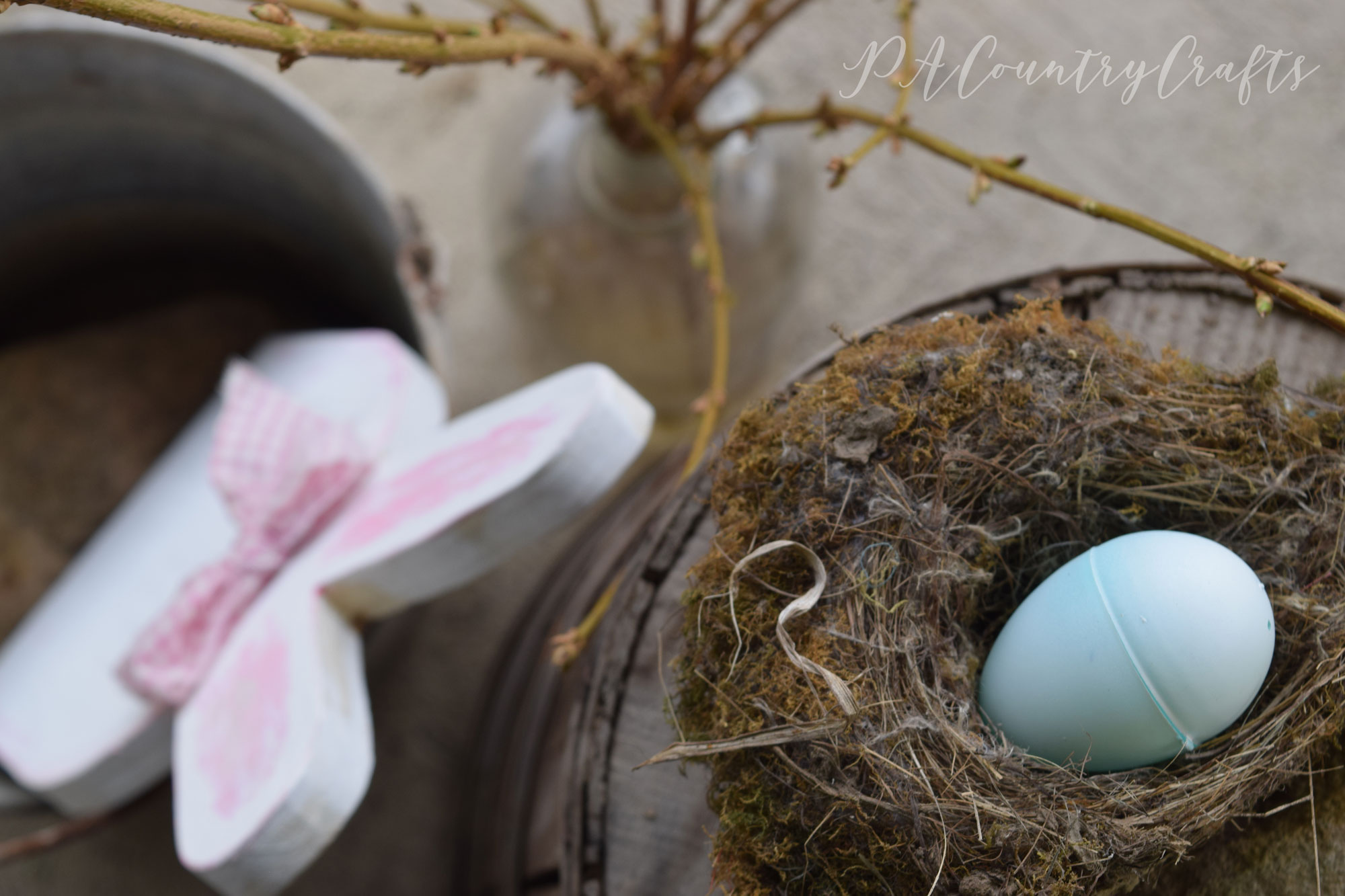Old birds nests for spring decorating