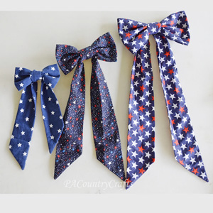 Fabric Bows Tutorial