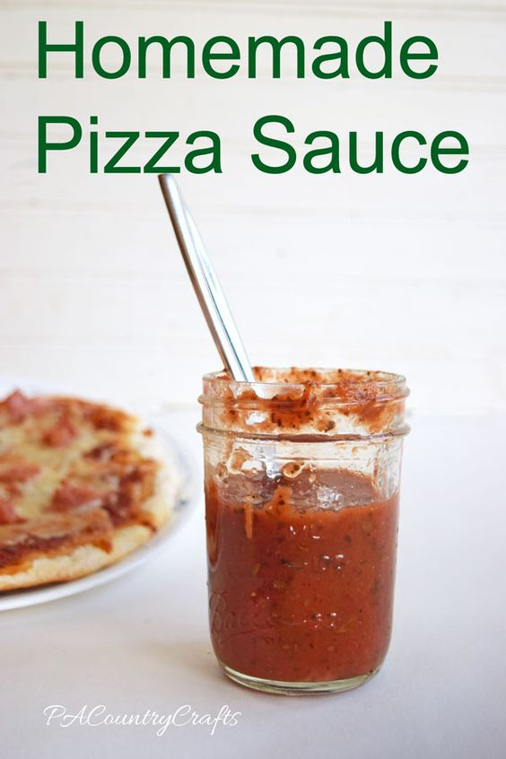 Homemade pizza sauce recipe- simple and delicious!