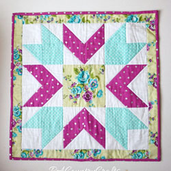 Star Doll Quilt