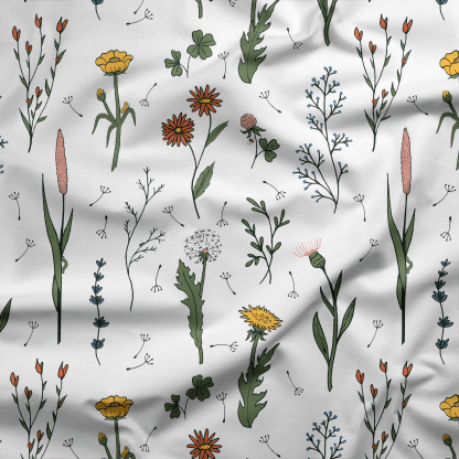 Wildflower Surprise Fabric (in cotton poplin) for Project Nature Adventure