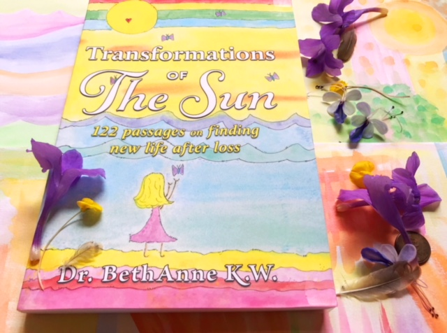 Transformations Of The Sea Poem Book on Grief by Beth Anne Kapansky Wright