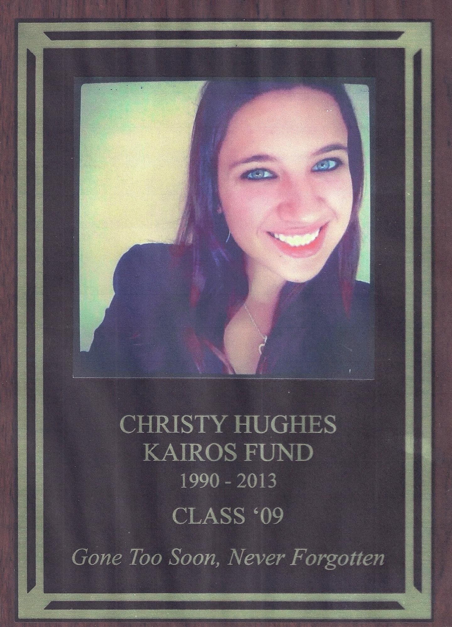 Event - Kairos Donation (Christy Plaque).jpg