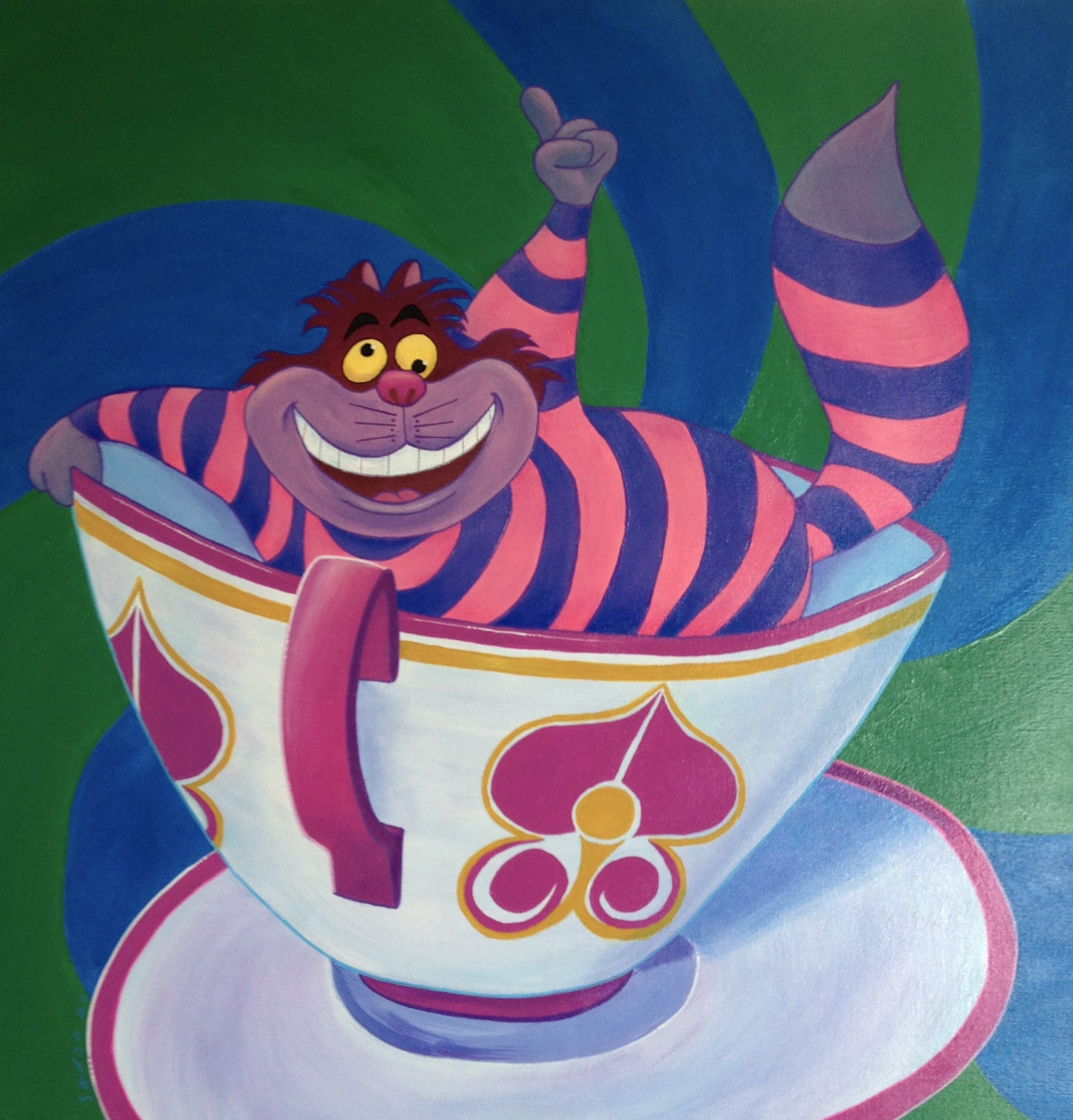 Cheshire's Teacup