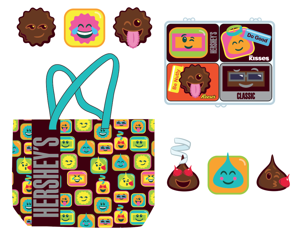 "Hershey's ""Emoji"" collection"