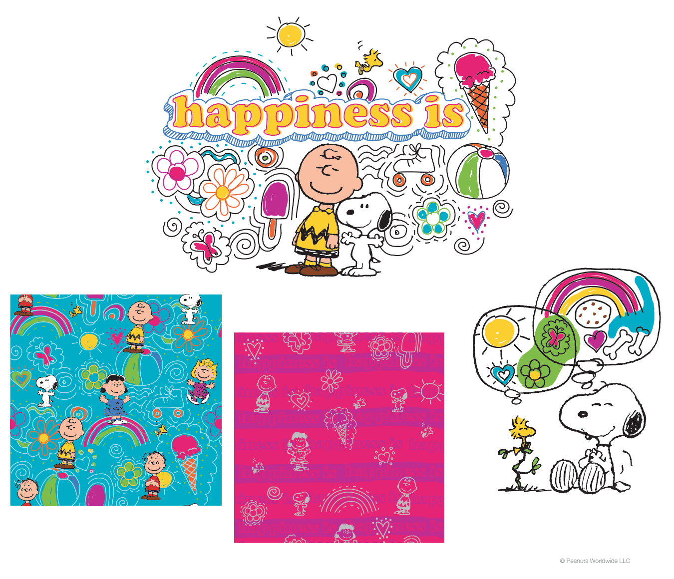 """Happiness is..."" collection"