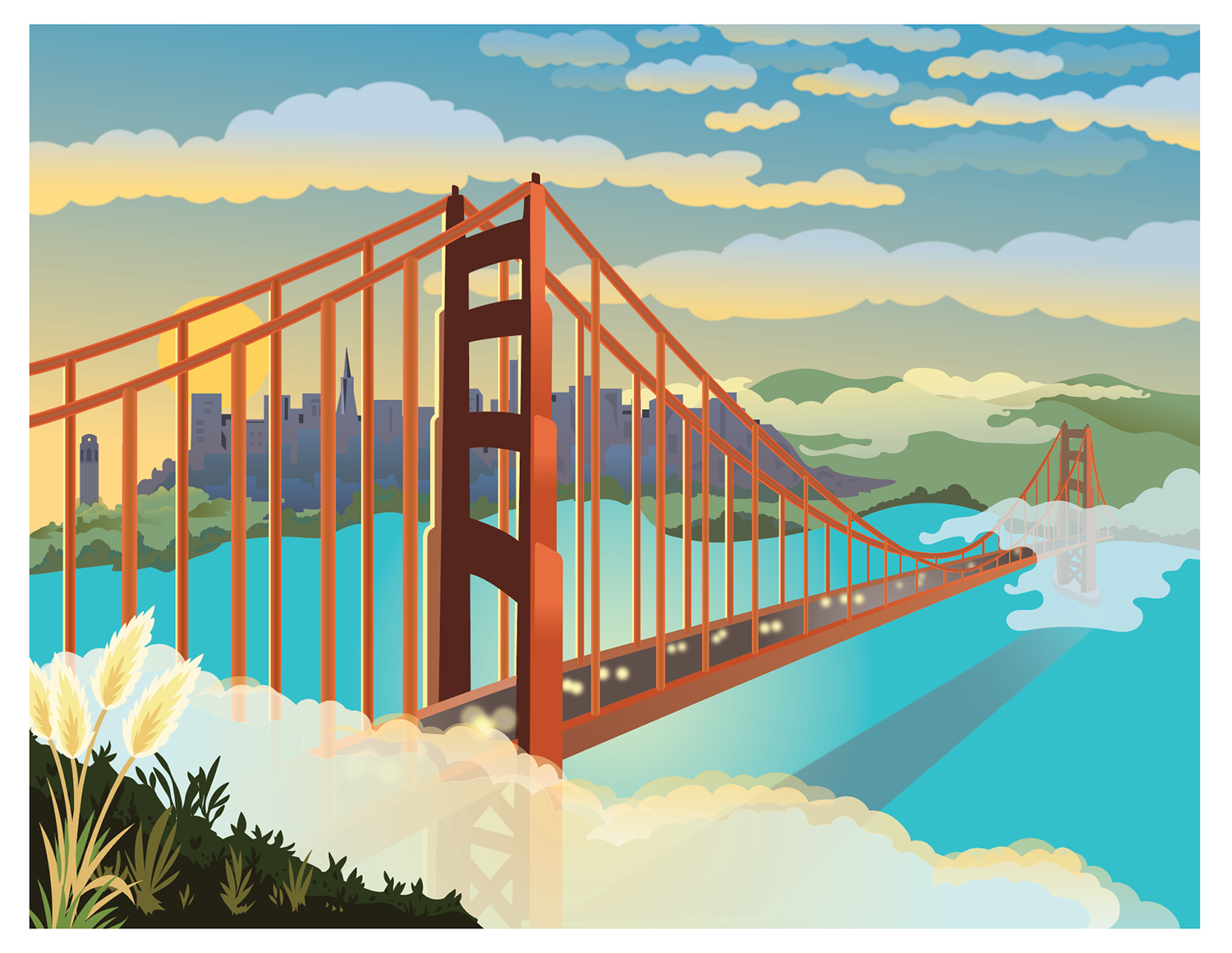 Golden Gate Mural