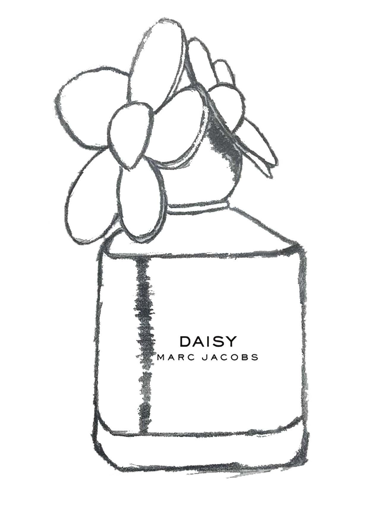 marc jacobs x nft bottle
