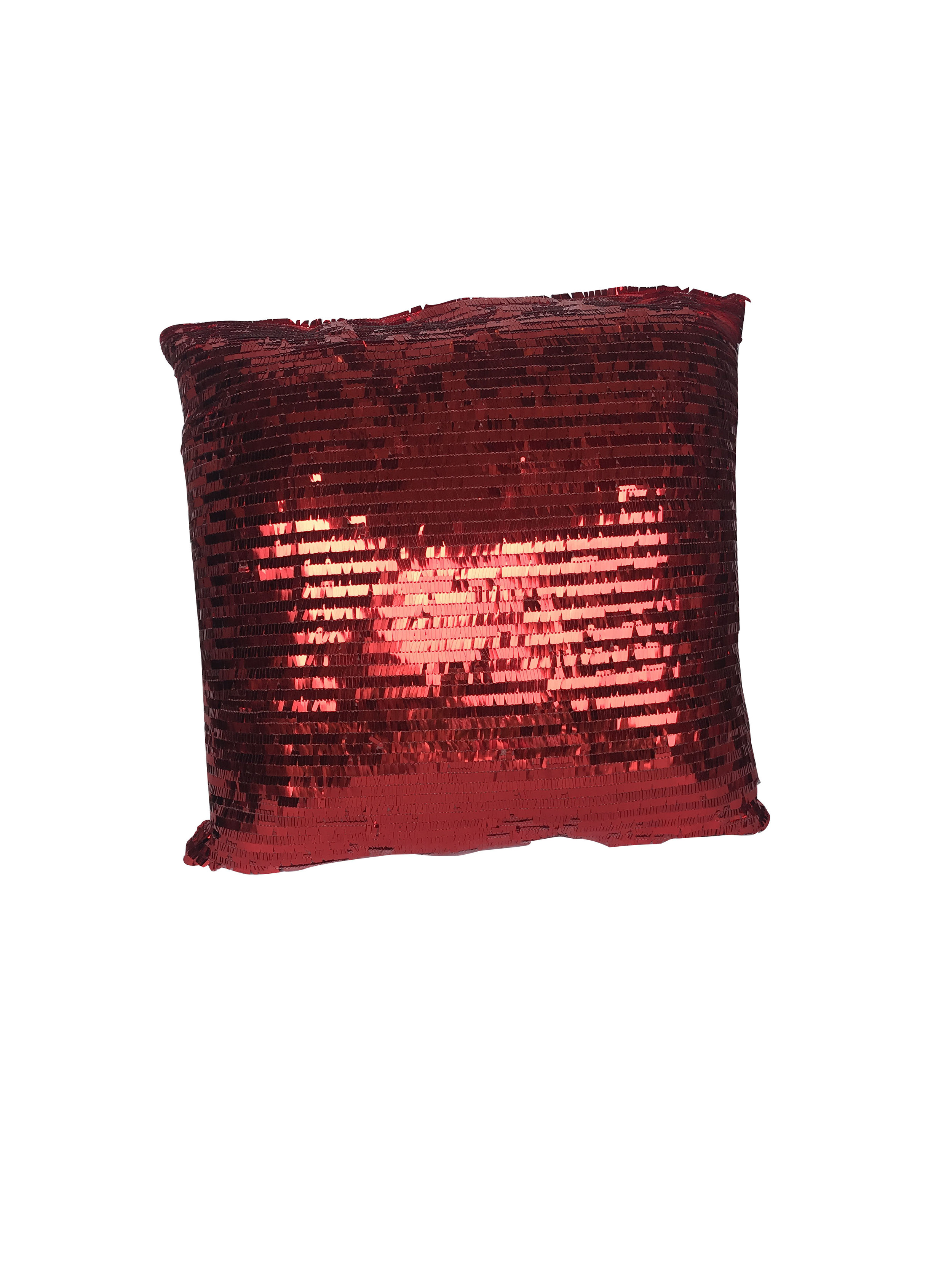Red Sequined Pillow.JPG