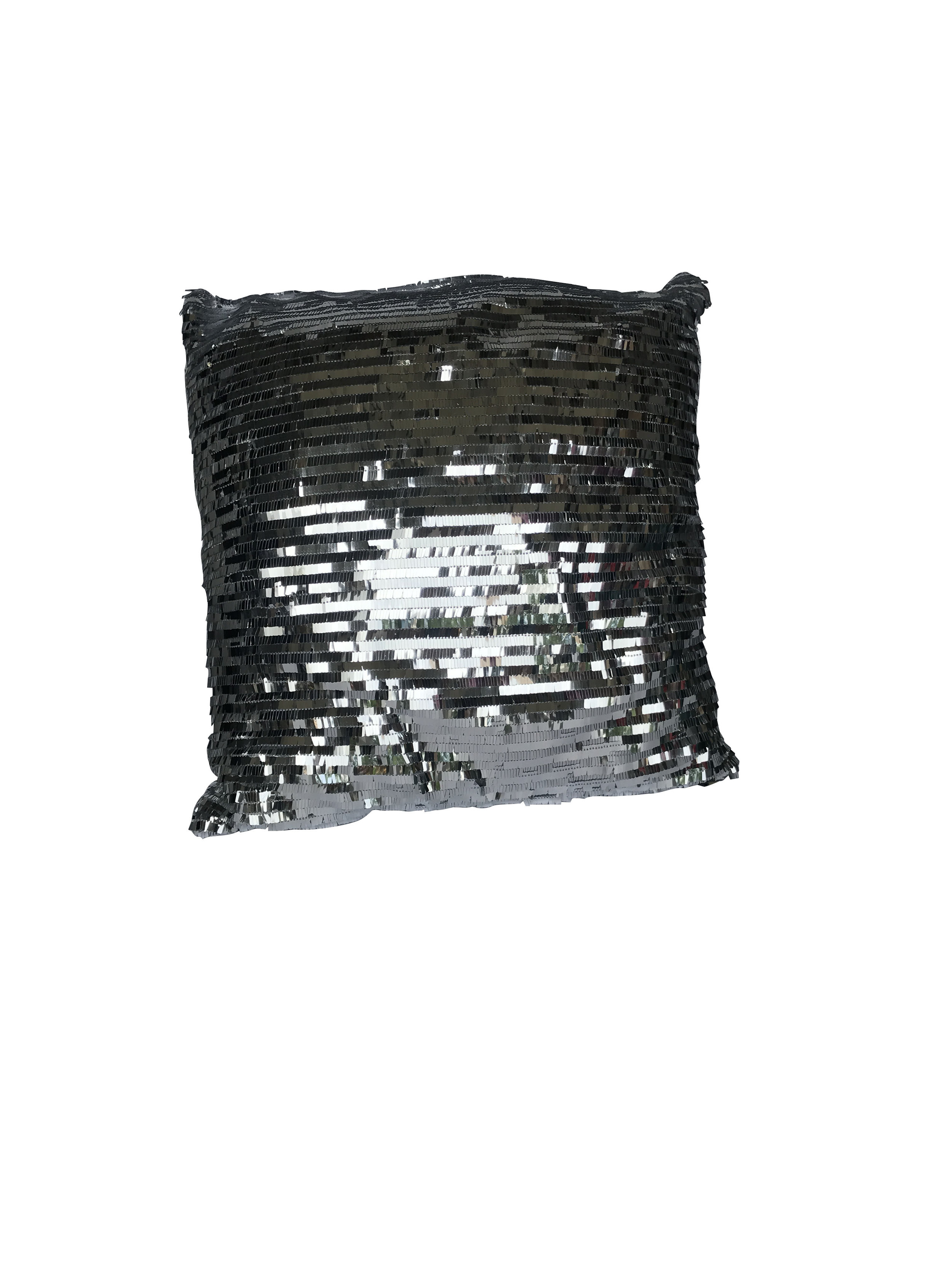 Silver Sequined Pillow.JPG
