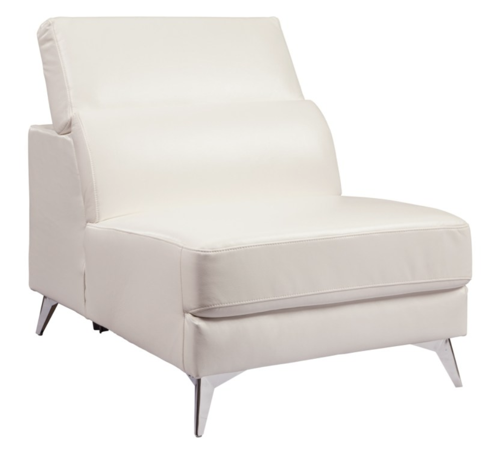 White Armless Side Chair with Adjustable Back 2.png